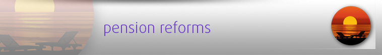 Pension reforms site