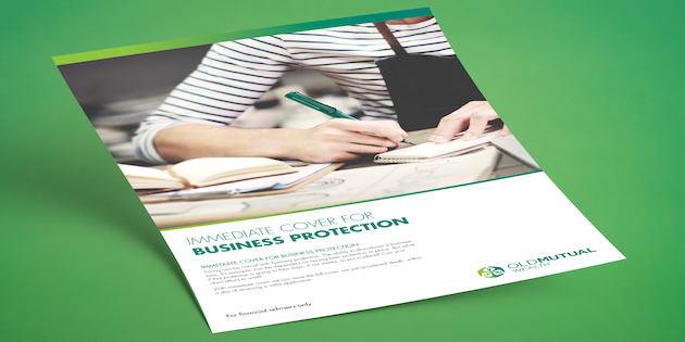 Immediate cover – independent study finds that Old Mutual Wealth's protect is a stand out product