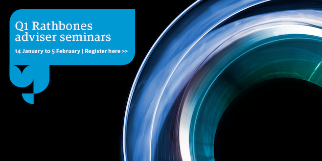 Rathbones Q1 adviser seminars