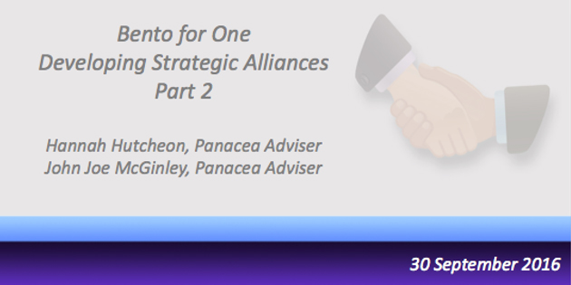 Bento for One Webcast - Working with Solicitors and Accountants