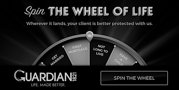 Guardian: When the Wheel of Life says your client can't work…